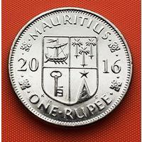 121-04 Маврикий, 1 рупия 2016 г.