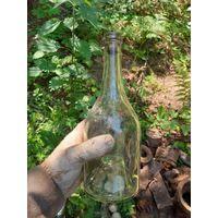 Бутылка от коньяка. Вермахт.
