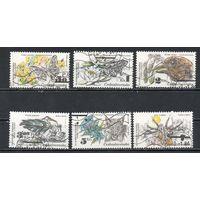 Охрана природы Чехословакия 1983 год серия из 6 марок