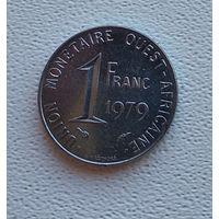 Западная Африка 1 франк, 1979  7-6-30