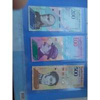 Венесуэла 8 банкнот 2018 года (UNC)