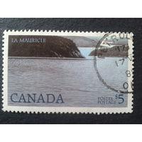 Канада 1986 национальный парк Mi-5,0 евро гаш.