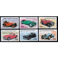 1996 Конго Браззавиль 1462-1467 Автомобили 9,00евро