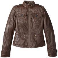 Кожаная куртка ,размер примерно 42
