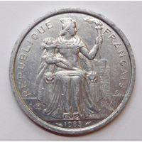 Новая Каледония 2 франка 1983 г