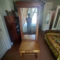 Старинное зеркало /дамский столик с фацетом массив дуба!
