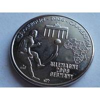 Камерун 1500 франков 2006 Чемпионат по футболу в Германии.
