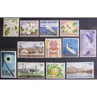 Британские колонии. Острова Кука. Полная серия 1963. Лот 11