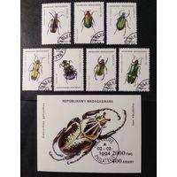 Мадагаскар\88\ 1993 Фауна насекомые жуки