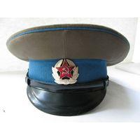 Фуражка сержантов и солдат ВДВ и ВВС СССР. Владивосток, 1972, 54 размер