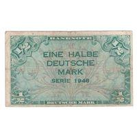 Германия 1/2 марки 1948 года. Нечастая!