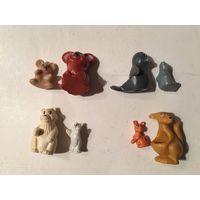 Киндер серия Животные с детенышами 1997г