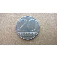 Польша 20 злотых, 1989г. (D-8)
