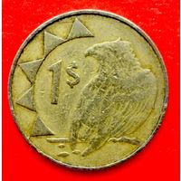 34-46 Намибия, 1 доллар 1996 г.