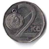 Чехия. 2 кроны. 1993 г.