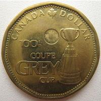 Канада 1 доллар 2012 г. Сотый Кубок Грея