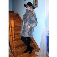 Тренд сезона! Шуба каракулевая, короткое меховое пальто.Полушубок каракульча / серебристый каракуль Swakara Новый !!! немецкий полушубок / мехобая куртка.Размер: 44 - 46 - 48 -50