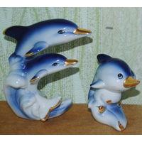 Статуэтка дельфины(пара).Германия.ЕМ