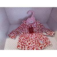 Курточки для кукол Беби Борн 43 см(оригинал) ,в ассортименте,цена за единицу