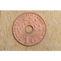 Голландская Индия 1 цент 1938