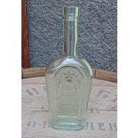 Редкая бутылка от ШУСТОВСКОГО коньяка начала 20-го века.