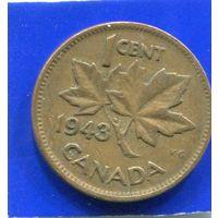 Канада 1 цент 1943