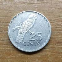 Сейшельские острова  25 центов 1997