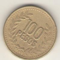 100 песо 1995 г.