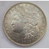 США, доллар, 1921, серебро