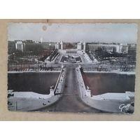 Париж. Дворец Шайо. 1940-50-е. Чистая