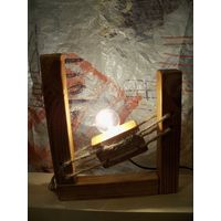Настольная лампа. Дизайнерский светильник. 012