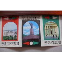 "Набор фото ""Вильнюс"", 1972, 13 мини-фото."