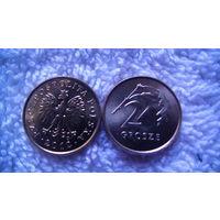Польша 2 гроша 2012г. распродажа