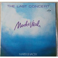 MareK & Vacek. The last concert/ 2 LP . Mint