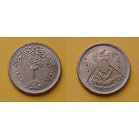 Египет 2 пиастра 1980г. монета 2