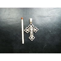 Серебренный крестик РПЦ 925