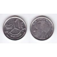 1 франк 1991 Бельгия KM# 171 никель