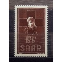 Красный Крест, Германия (Саар), 1954 год, 1 марка