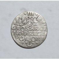 Три гроша 1622 Краков Сигизмунд lll Ваза