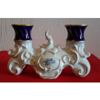 Wallendorf W.Подсвечник на две свечи.15x10 см.
