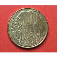 Эфиопия 10 центов, магнитная
