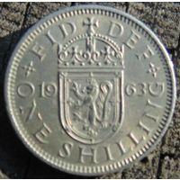 1 шиллинг 1963 Великобритания