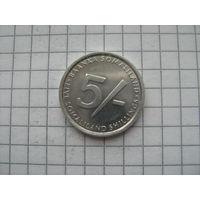 Сомалиленд 5 шиллингов 2002г.