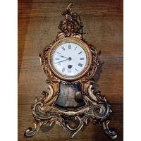 Часы настольные каминные, 1850 год. рабочие.