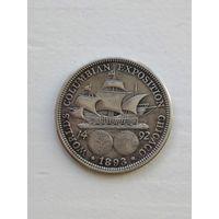 США, 1/2 доллара 1893 /КОЛУМБ/ Half Dollar