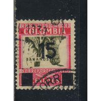 Колумбия 1939 Бананы Надп Стандарт #396