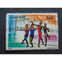 Сенегал 1980г. Спорт.