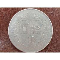 10 долларов 1985 Тайвань