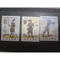 Гвинея Португальская 1966 Колония военная форма прошлых лет