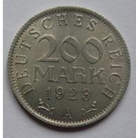 Германия. 200 марок 1923г.А.